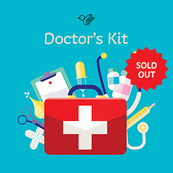 Doctor's kit book box - sold out!
