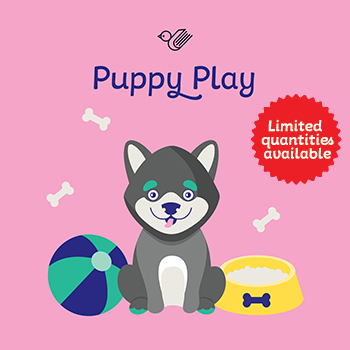 Puppy play gift box