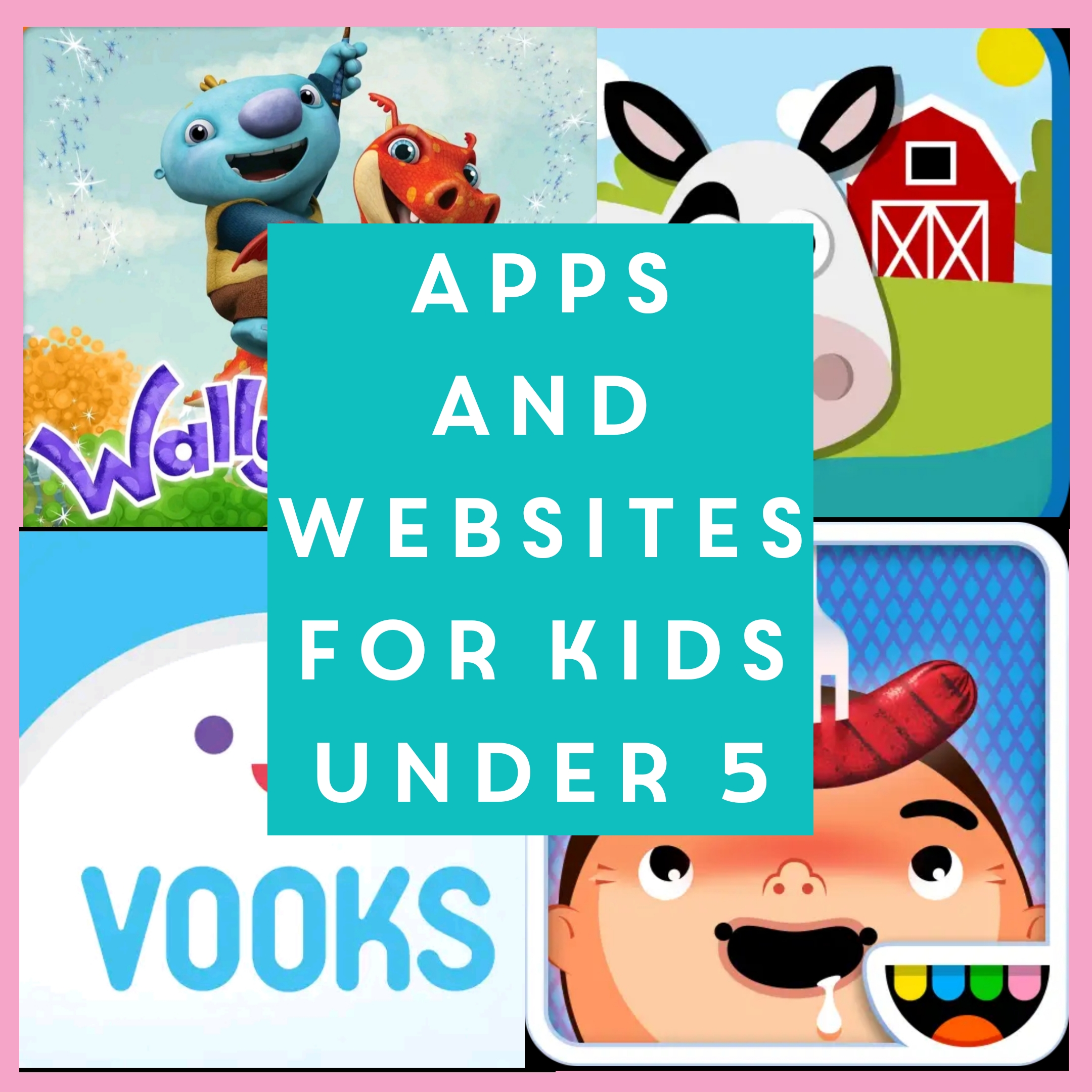 Apps and websites for kids under 5