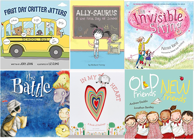 6 Books about Starting School